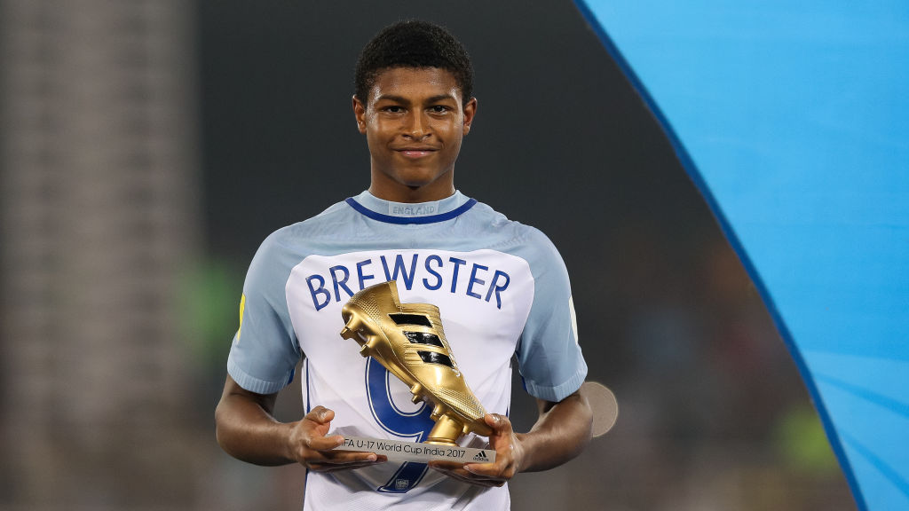 Rangers set to make loan move for Liverpool's Rhian Brewster
