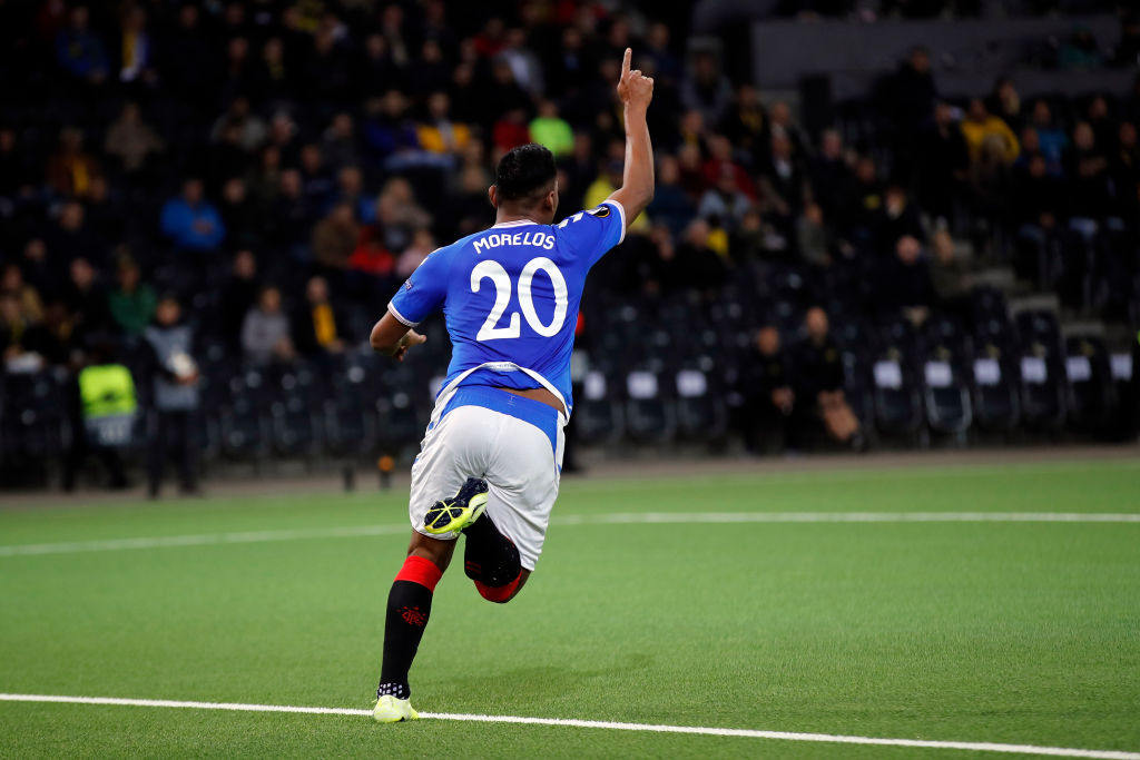 Rangers striker Alfredo Morelos 'agrees personal terms with Lille'