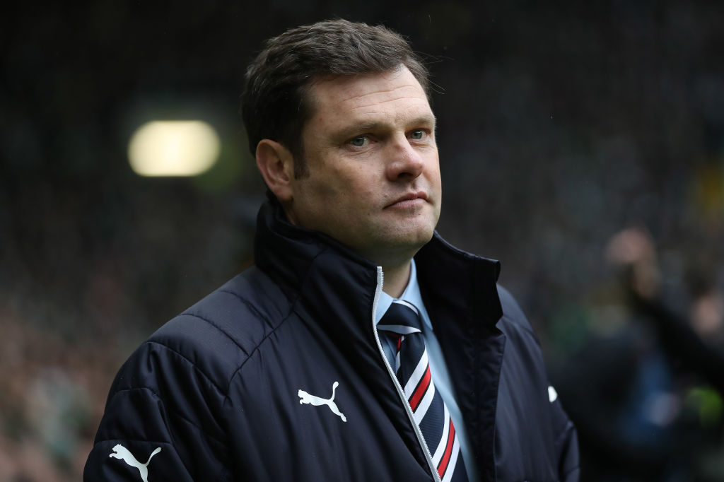 GLASGOW, SCOTLAND - DECEMBER 30: Rangers manager Graeme Murty during the Scottish Premier League match between Celtic and Ranger at Celtic Park on December 30, 2017 in Glasgow, Scotland.