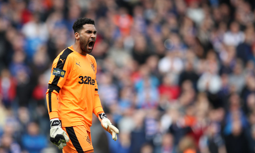 Foderingham will soon leave Rangers and become a free agent.