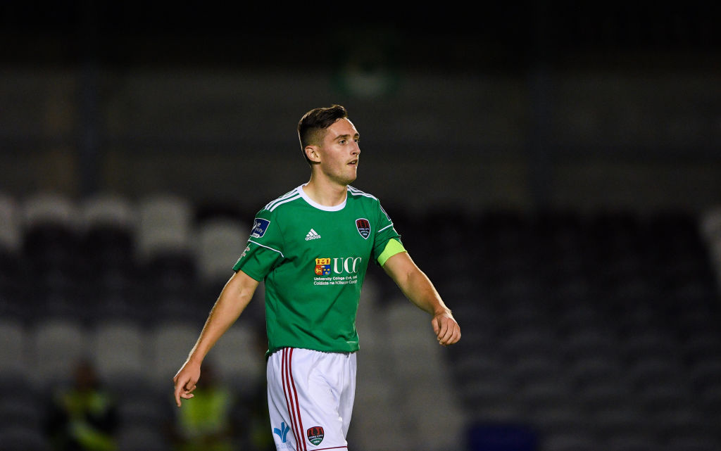 Galway , Ireland - 23 August 2019; Conor McCarthy of Cork City during the Extra.ie FAI Cup Second Round match between Galway United and Cork City at Eamonn Deacy Park in Galway.