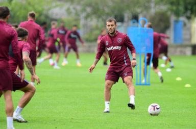 Rangers West Ham United Training Session