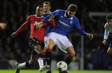 Soccer - UEFA Champions League Group C - Matchday 5 - Glasgow Rangers v Manchester United