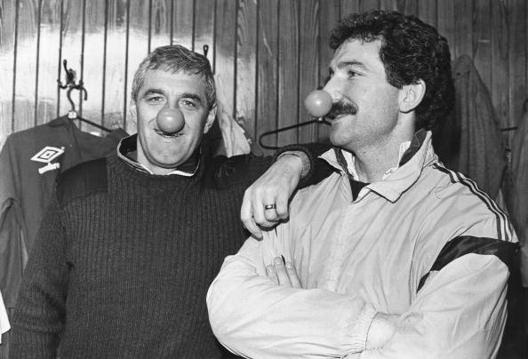 Walter Smith and Graeme Souness, March 1989.