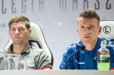 Legia Warsaw v Rangers F.C. - UEFA Europa League: Press Conference