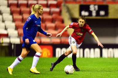 Rangers Manchester United v Chelsea FC - FA Women's Continental League Cup: Semi-Final