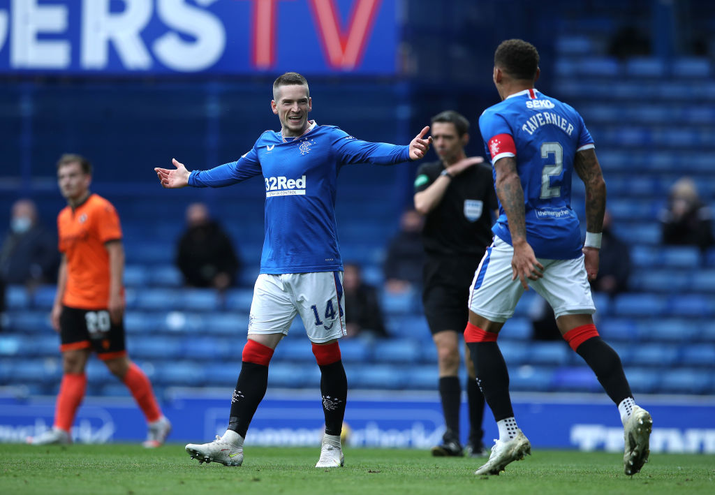 Rangers v Dundee United - Ladbrokes Scottish Premiership