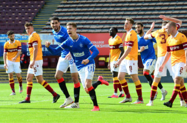 Motherwell v Rangers - Ladbrokes Scottish Premiership