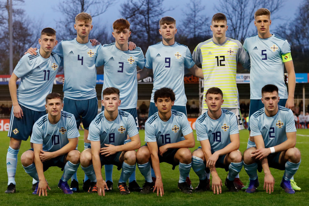 Holland U17 v Northern Ireland U17