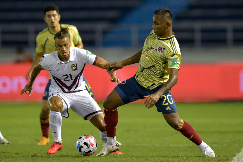 Rangers Colombia v Venezuela - South American Qualifiers for Qatar 2022