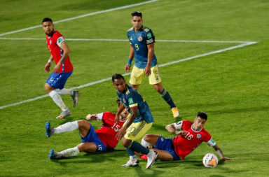 Chile v Colombia - South American Qualifiers for Qatar 2022