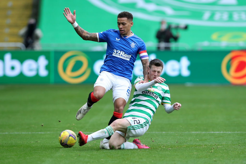Rangers remain top with statement win in Old Firm derby against Celtic