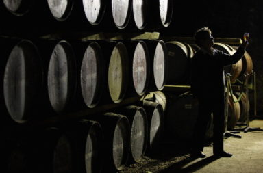 Malt Whisky Is Made At Dalwhinnie Distillery As Whisky Exports Reach Record High