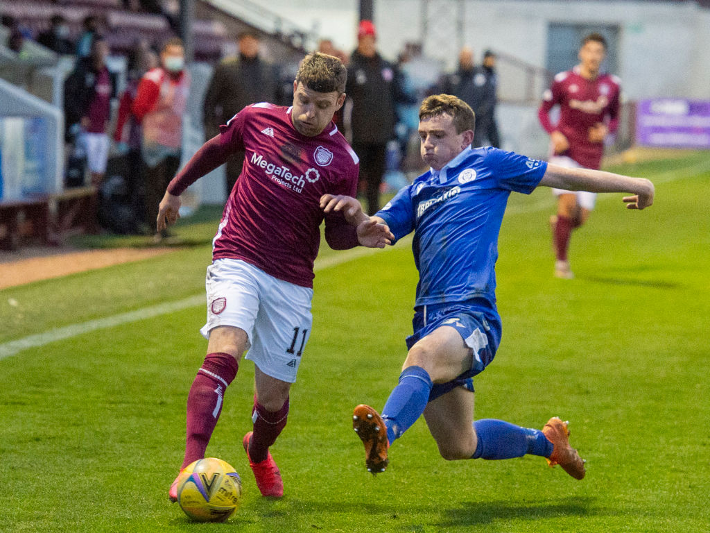 Arbroath v Queen of the South - Scottish Championship