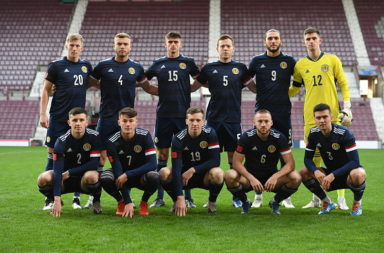 Rangers Scotland Under 21 v Croatia U21 - UEFA Under 21 Championship