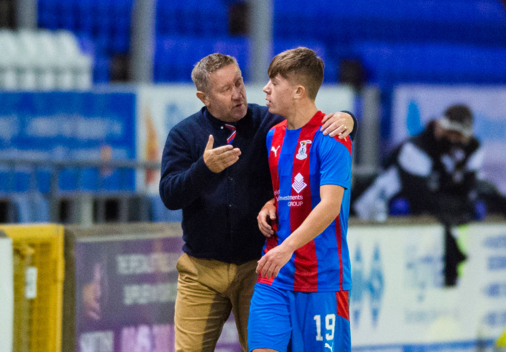 Rangers Inverness Caledonian Thistle v East Fife - Betfred Cup