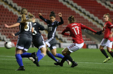 Manchester United Women v Leicester City Women - FA Women's Continental League Cup
