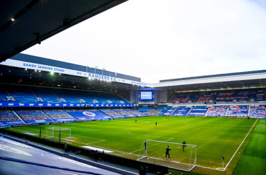 Rangers v Motherwell - Ladbrokes Scottish Premiership