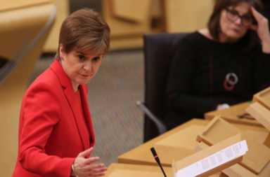Nicola Sturgeon Provides Coronavirus Update Ahead Of Christmas