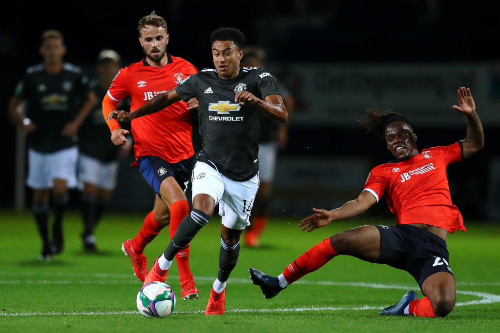 Rangers Luton Town v Manchester United - Carabao Cup Third Round