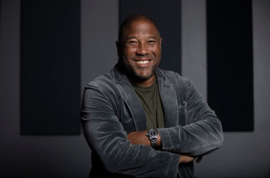 United Kingdom - Liverpool - Former Footballer John Barnes
