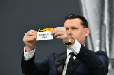 UEFA Europa League 2020/21 Round of 32 Draw