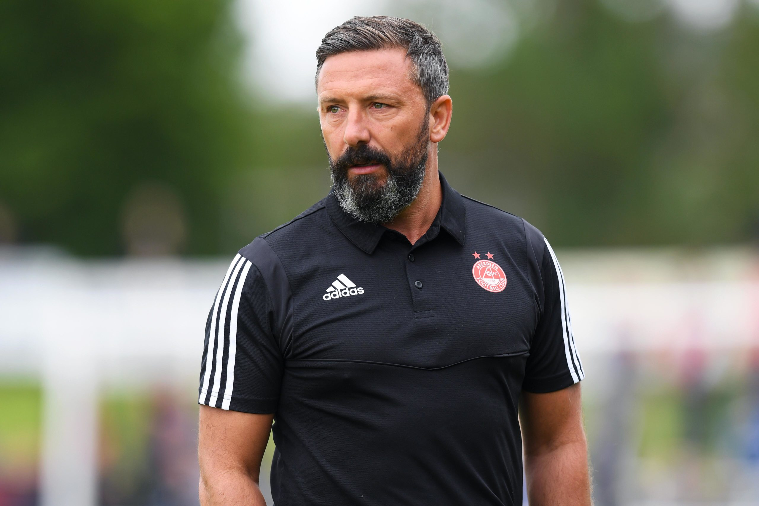 Rangers 06/07/19 PRE-SEASON FRIENDLY.ABERDEEN v INVERNESS CT.BOROUGH BRIGGS - ELGIN.Aberdeen manager Derek McInnes