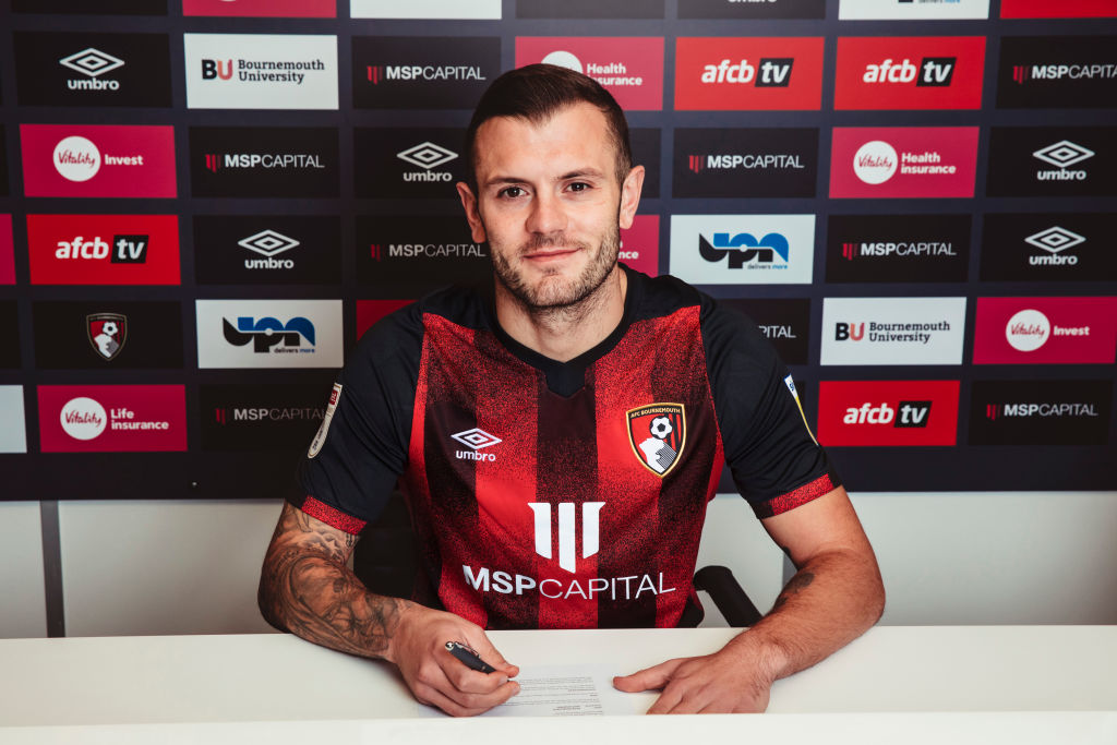 AFC Bournemouth Unveil New Signing Jack Wilshere