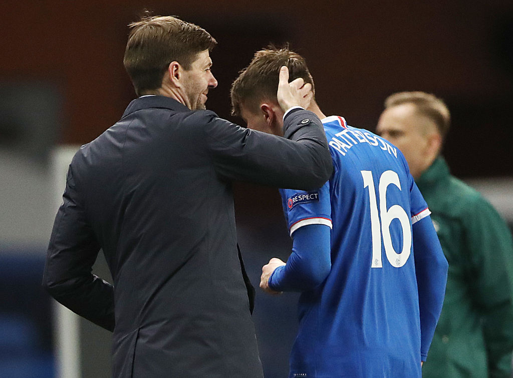 Rangers FC v Royal Antwerp FC - UEFA Europa League Round Of 32 Leg Two