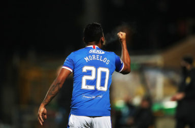 morelos Livingston v Rangers - Ladbrokes Scottish Premiership