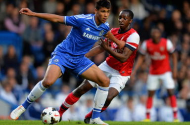 Chelsea U18 v Arsenal U18 - FA Youth Cup Semi Final: First Leg
