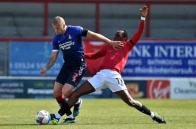 Morecambe v Oldham Athletic -Sky Bet League 2