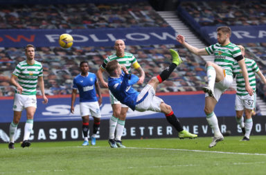 Rangers v Celtic - Scottish Cup