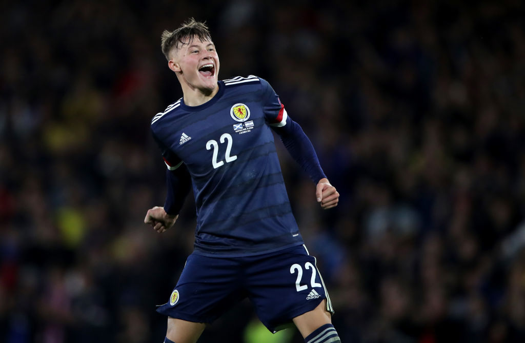 rangers nathan patterson Scotland v Israel - 2022 FIFA World Cup Qualifier